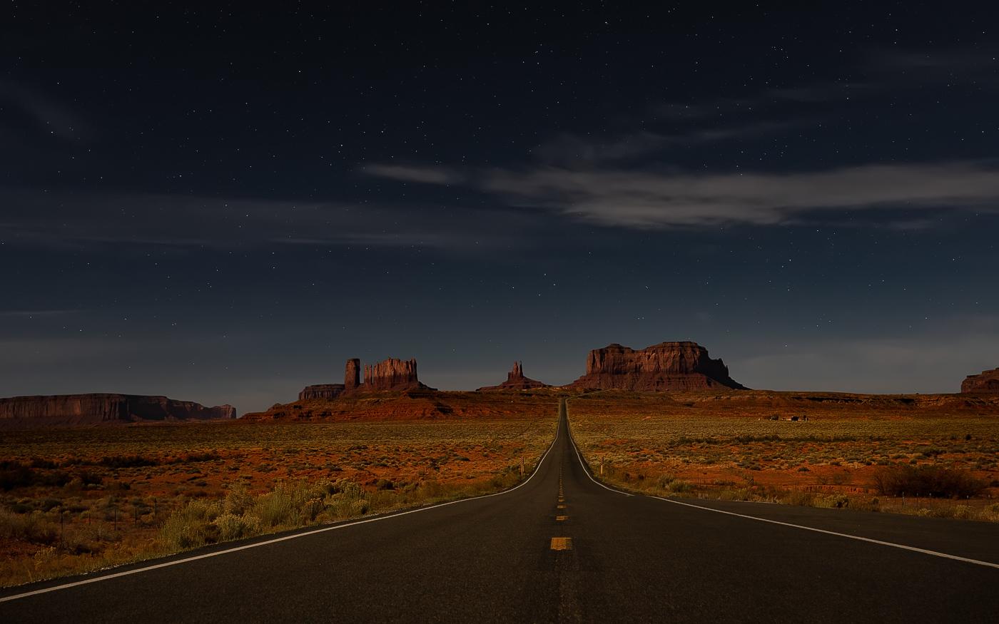 La nuit pour seul horizon